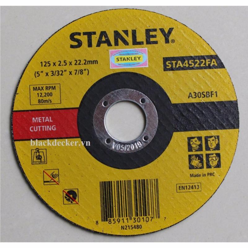 Đá cắt 125*2.5*22mm Stanley - STA4522FA