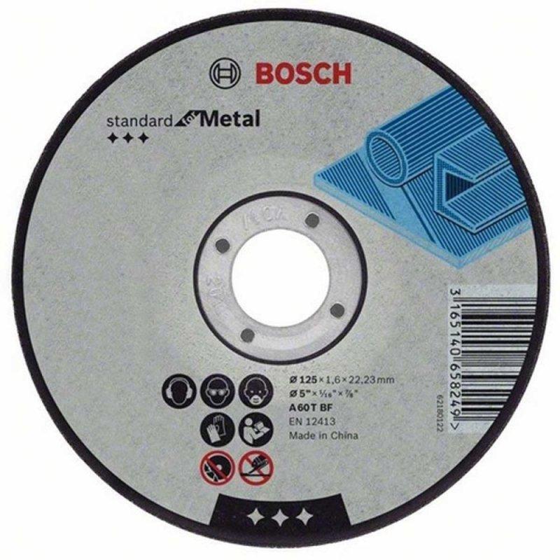 Đá cắt sắt Bosch 2608600091 100 x 2.5 x 16mm (Đen)