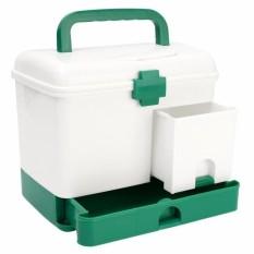 Nơi mua Danh Mục Tủ Thuốc Y Tế Trường Học – Hộp đựng thuốc gia đình 3 tầng tiện dụng, giúp sắp xếp thuốc và dụng cụ y tế một cách gọn gàng, ngăn nắp