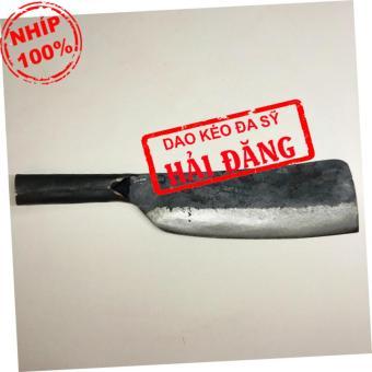 Dao phay chặt xương Hải Đăng - Đa Sỹ rèn thủ công bằng nhíp ô tô900g (Loại 1) HD02-04