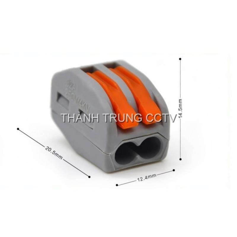 Bảng giá Mua Đầu nối nhanh dây điện PCT202 bộ 10 cái