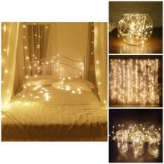 Dây Đèn Fairy Lights Trang Trí Cao Cấp 10M Cắm Điện + Tặng Kèm Fairy Light 5M Màu Vàng Nắng