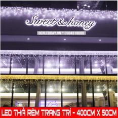 Dây đèn thả Rèm – LED chớp – KT 400 CM x 50 CM