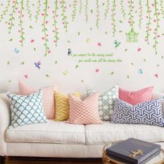 Nơi nào bán Decal trang trí dán tường dàn hoa leo XL8260