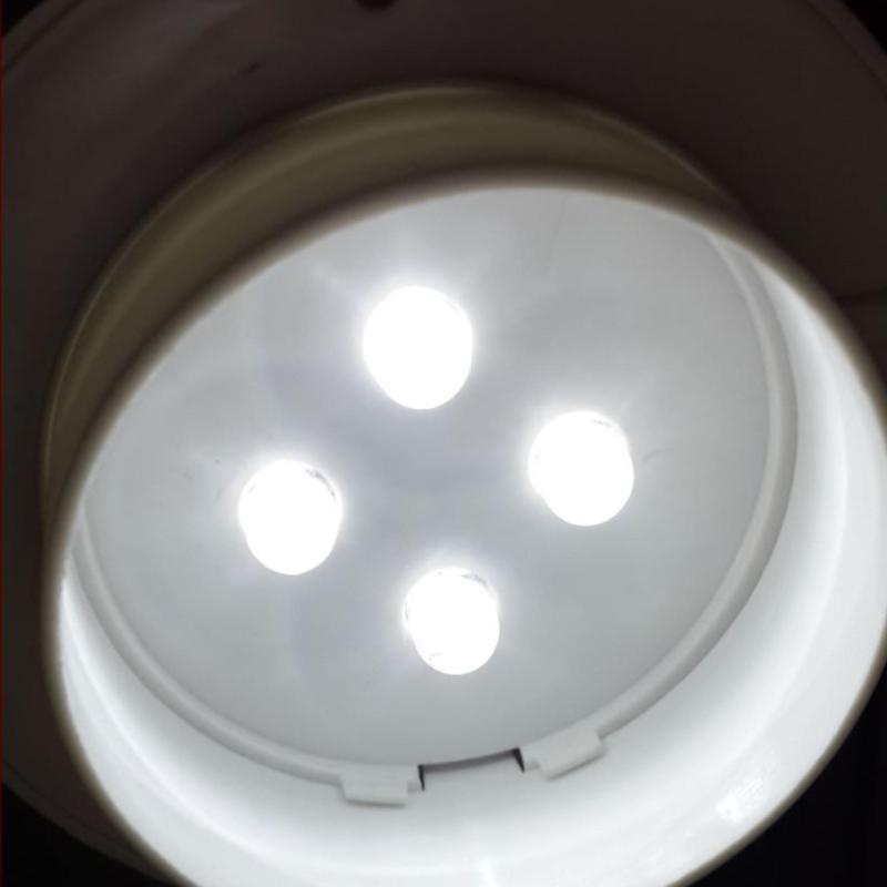 Bảng giá Đèn 4 led treo tường năng lượng mặt trời - L2A