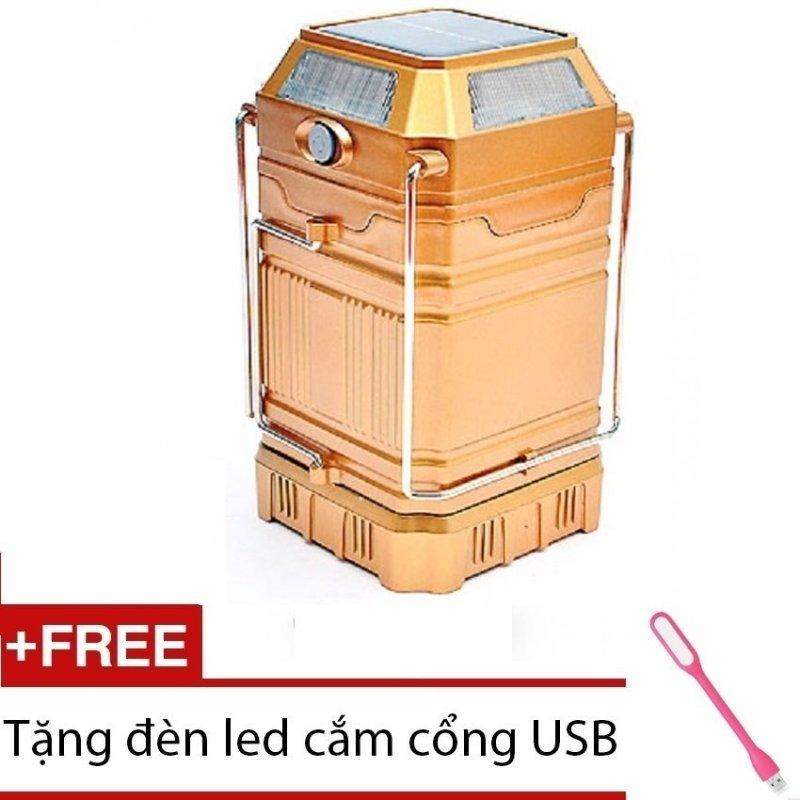 Bảng giá Mua Đèn bão 5in1 (8009A vàng) + tặng led USB