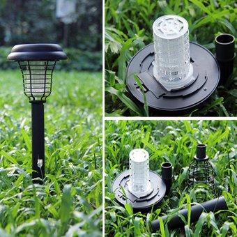 Đèn  bắt muỗi năng lượng mặt trời sân vườn Light