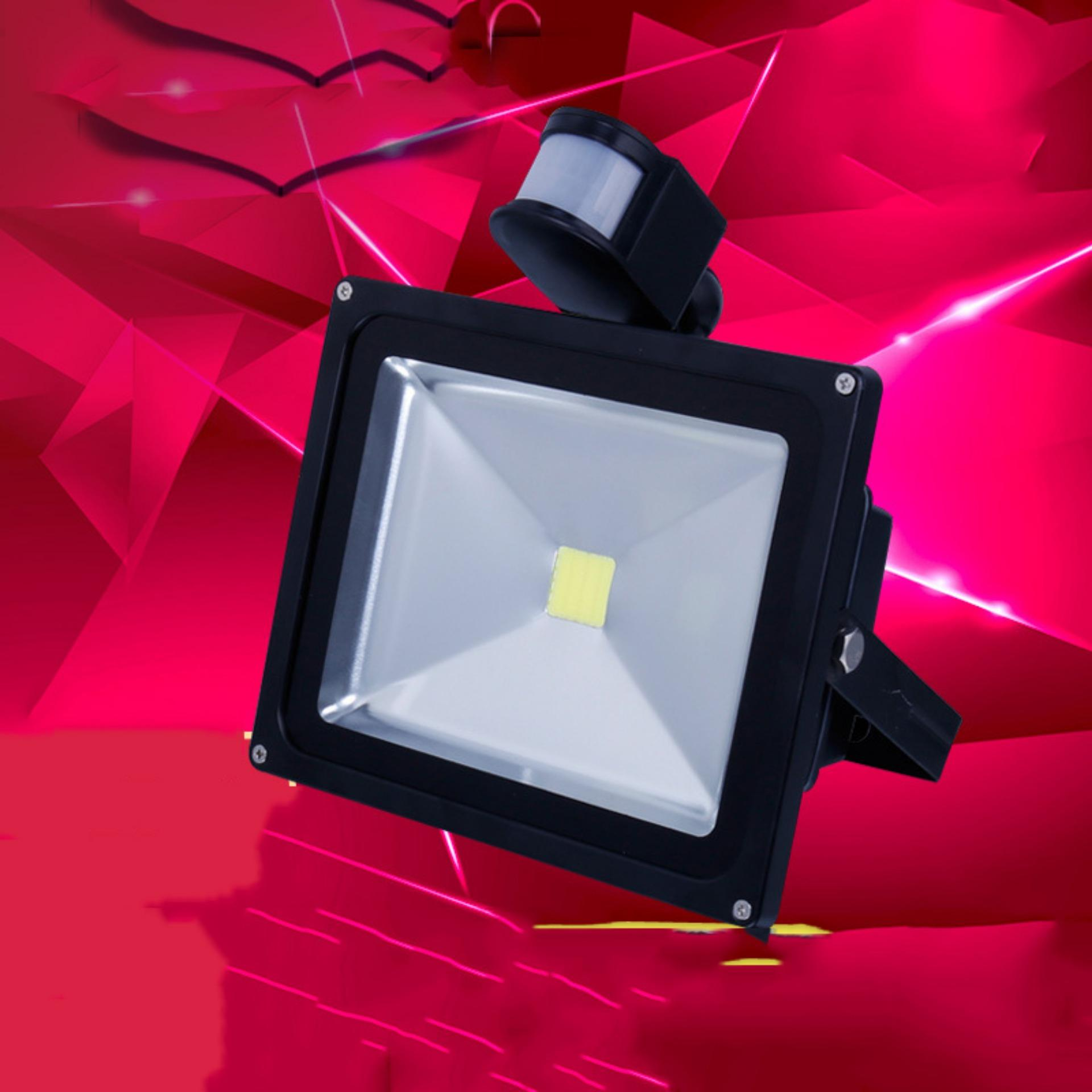 Chỗ nào bán Đèn Cảm Biến Ánh Sáng, Chống Trộm Ban Đêm – Đèn Pha Led 30W Siêu Sáng Tiết Kiệm Điên 70%