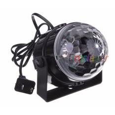 Đèn cầu led xoay trang trí ánh sáng laser thích hợp cho party, trình diễn DJ – MS 02