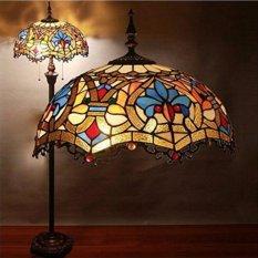 Đèn cây cao cấp kiểu dáng Tiffany phong cách Cổ Điển
