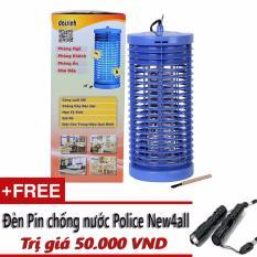 Đèn diệt côn trùng Đại Sinh DS-D6 (Xanh) + Tặng đèn pin mini New4all trị giá 50.000 VND