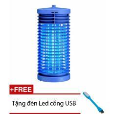 [Mua ngay] Đèn diệt côn trùng cho gia đình DS-D6 (Xanh) + Tặng 1 đèn Led cổng USB