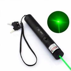 Đèn Laze Laser 303 tia xanh lá chiếu cực xa + đầu chiếu ngàn sao