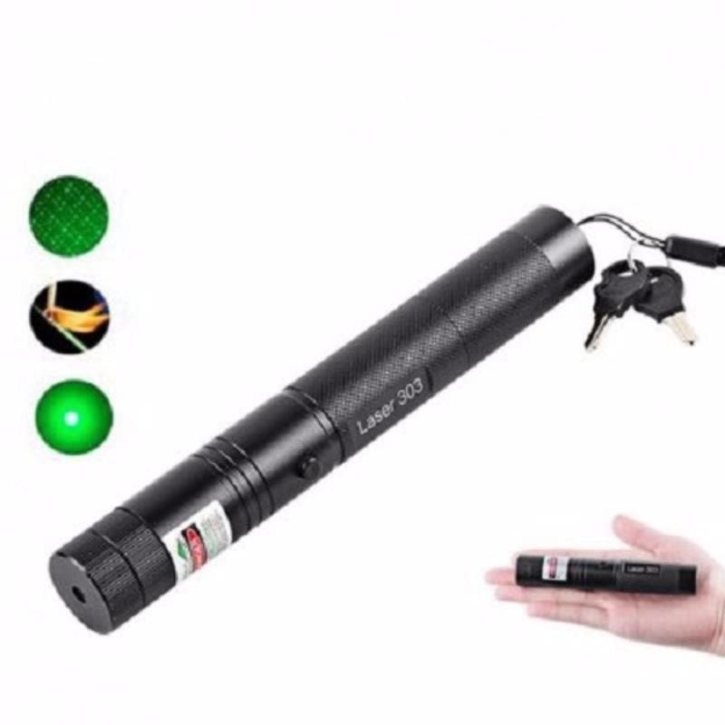 Bảng giá Mua Đèn lazer 303 ánh sáng xanh Lớn