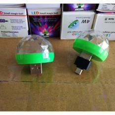 Đèn Led 7 màu USBMicro cảm ứng âm thanh