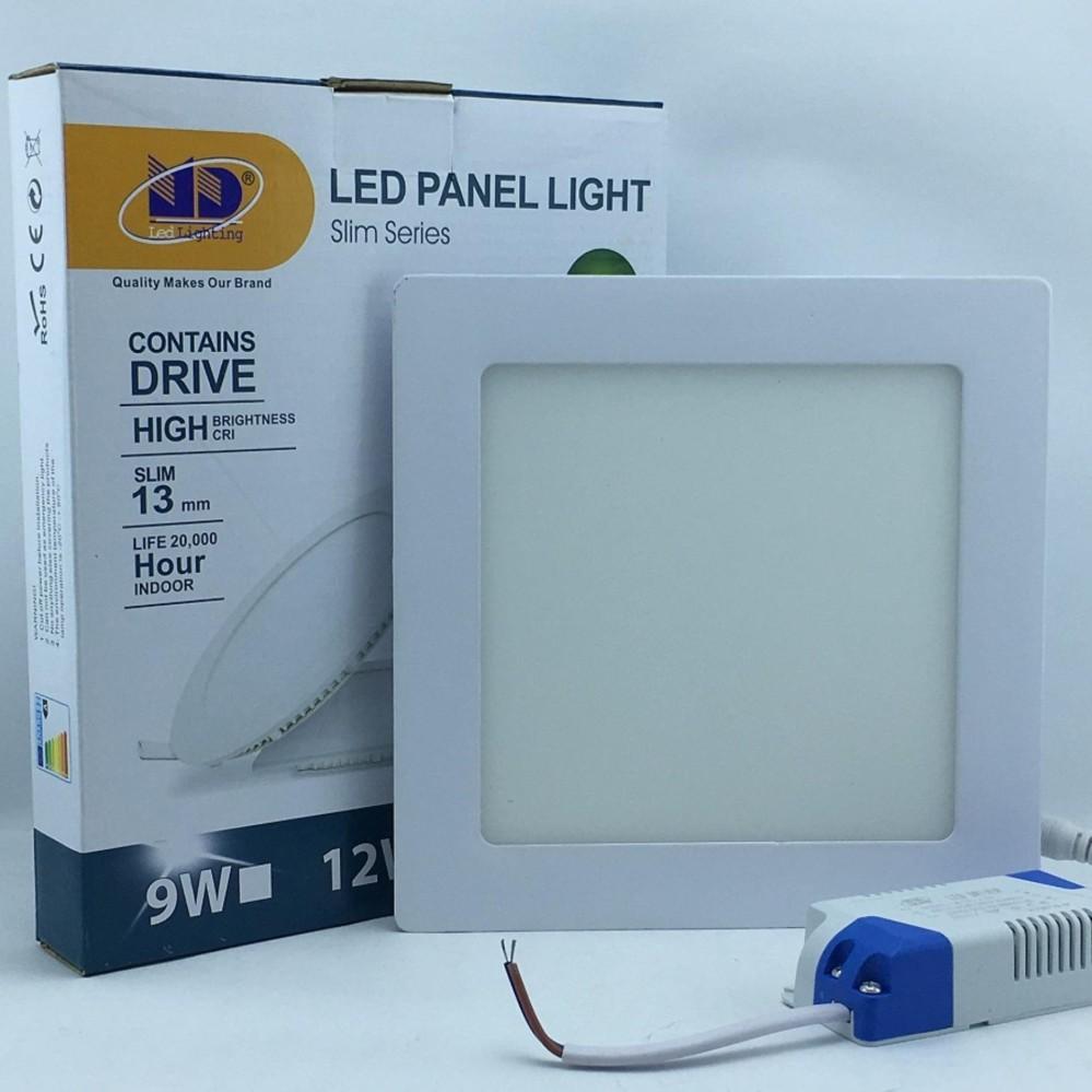 Chỗ nào bán Đèn LED âm trần siêu mỏng vuông ánh sáng trắng (12W-Φ150) – MD02