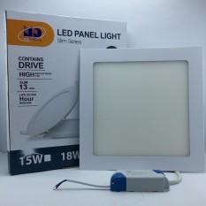 Đèn LED âm trần siêu mỏng vuông ánh sáng trắng (18W-Φ200) – MD02