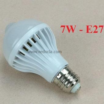 Đèn LED bulb cảm ứng hồng ngoại 7W