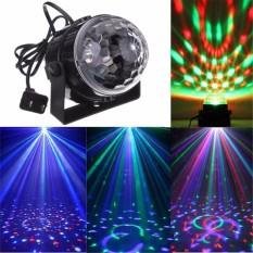 Đèn LED hình cầu Pha lê rực rỡ sắc màu cảm ứng âm thanh