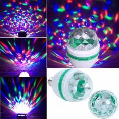 Đèn Led sân khấu vũ trường nhiều màu RGB 3w pha lê tự xoay Posson L-RGB3