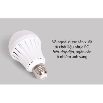 Đèn Led tích điện thông minh công suất 7W