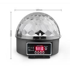 đèn led trang trí cầu xoay 360 độ cảm biến theo nhạc