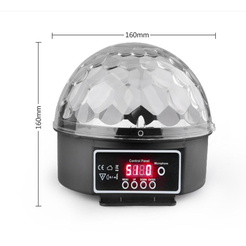 Bảng giá Mua đèn led trang trí cầu xoay 360 độ cảm biến theo nhạc