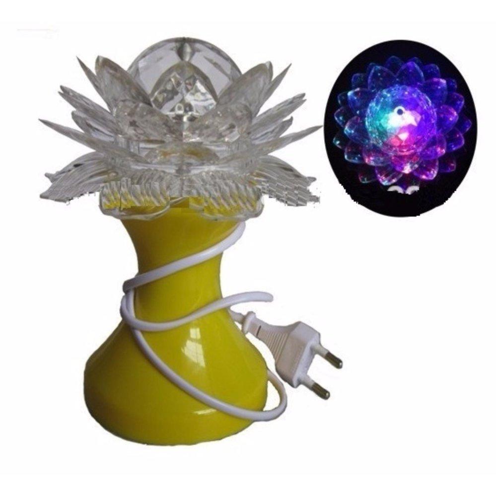 Giá Sốc Đèn LED trang trí hoa sen có chân LED-0001V (nhiều màu)