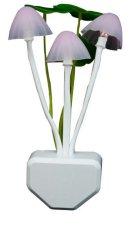 Đèn ngủ cảm ứng hình nấm hoa hồng (Ánh sáng đổi màu)