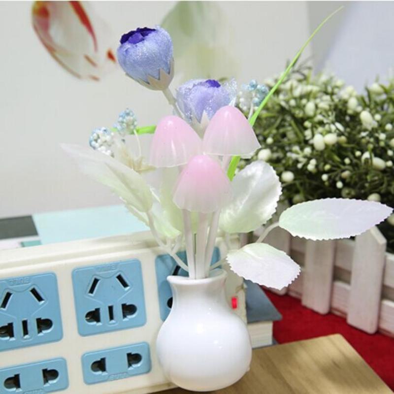 Bảng giá Mua Đèn ngủ cảm ứng nấm hoa hồng Thanh Khang