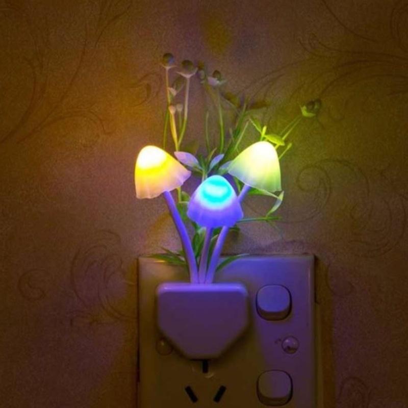 Bảng giá Mua Đèn ngủ thần tiên hình nấm thủy sinh cảm ứng ánh sáng đổi màu