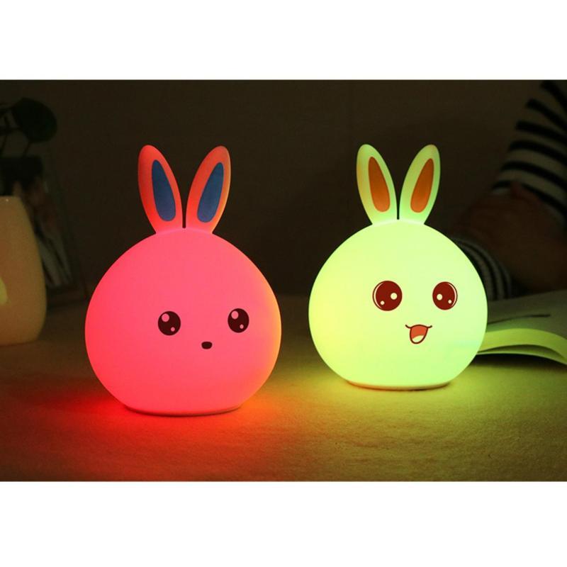 Bảng giá Đèn Ngủ Thú Cưng ( thỏ tai xanh)