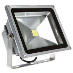 Đèn pha LED 50W (ánh sáng trắng) cao cấp(Xám)