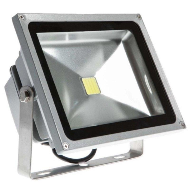 Bảng giá Mua Đèn pha LED 50W (ánh sáng trắng) cao cấp(Xám)
