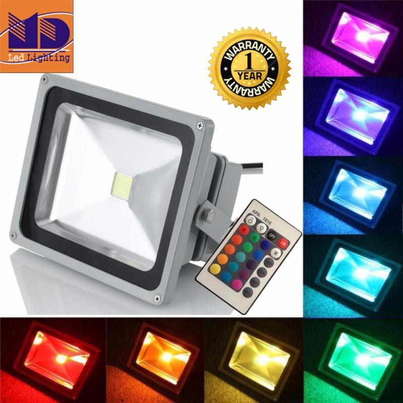 Bảng giá Mua Đèn Pha Led ánh sáng đổi màu 30W - MD49