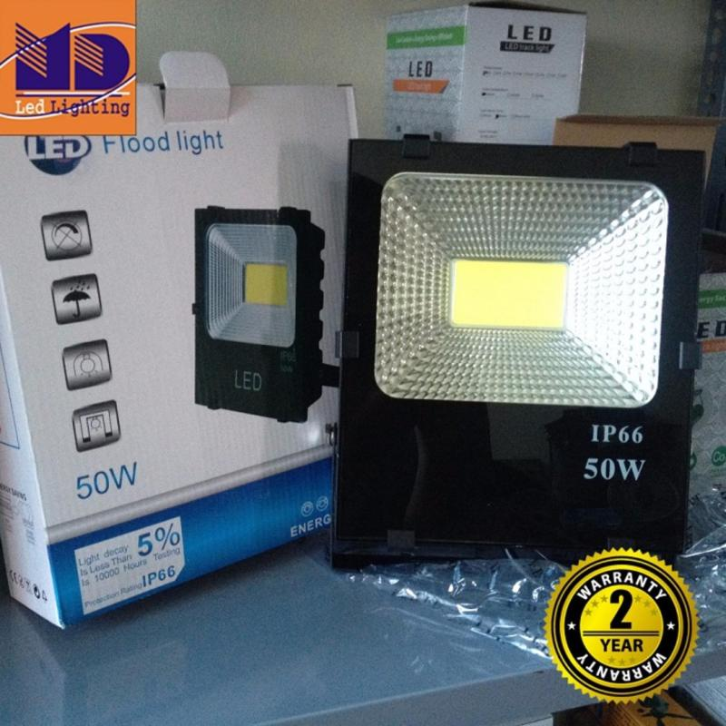 Bảng giá Mua Đèn Pha led cao cấp chống nước COB ánh sáng trắng 50W - MD106