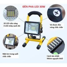 Ở đâu bán Đèn pha LED đa năng siêu tiết kiệm điện 30W chống nước IP65 (không kèm pin)