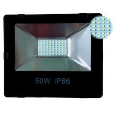 Giảm giá Đèn Pha Led IP66 Siêu mỏng, siêu sáng 50W (Ánh Sáng vàng)