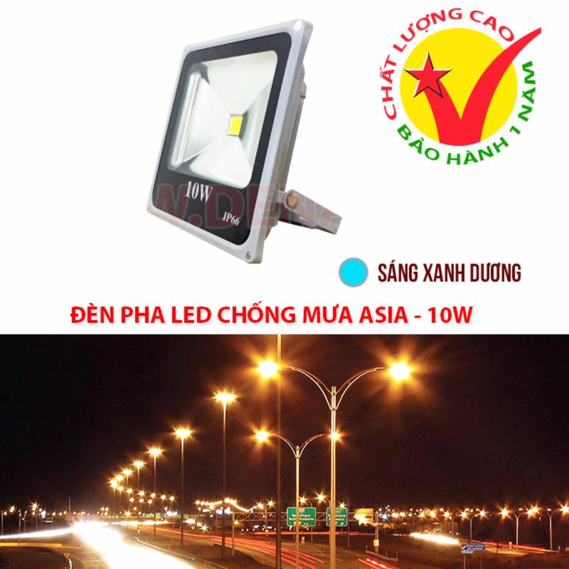 Bảng giá Mua Đèn pha LED siêu sáng, chống mưa IP66 ASIA Lighting 10W