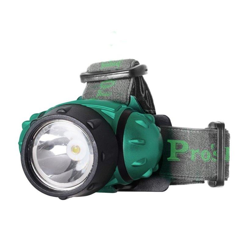 Bảng giá Mua Đèn pin đeo đầu Proskit FL-528 (Xanh phối đen)