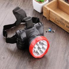 Đèn pin đội đầu chân sạc 9 led siêu sáng 3TI84
