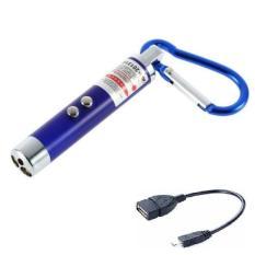 Đèn pin laser 3 in 1 và tặng Cáp OTG