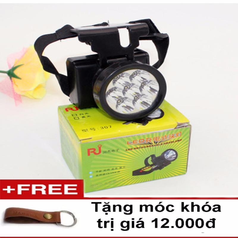 Bảng giá Mua Đèn pin Led siêu sáng đội đầu ( tặng móc khóa )
