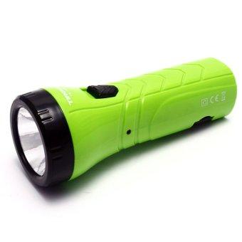 Đèn pin sạc Tiross TS1124 (Xanh lá)