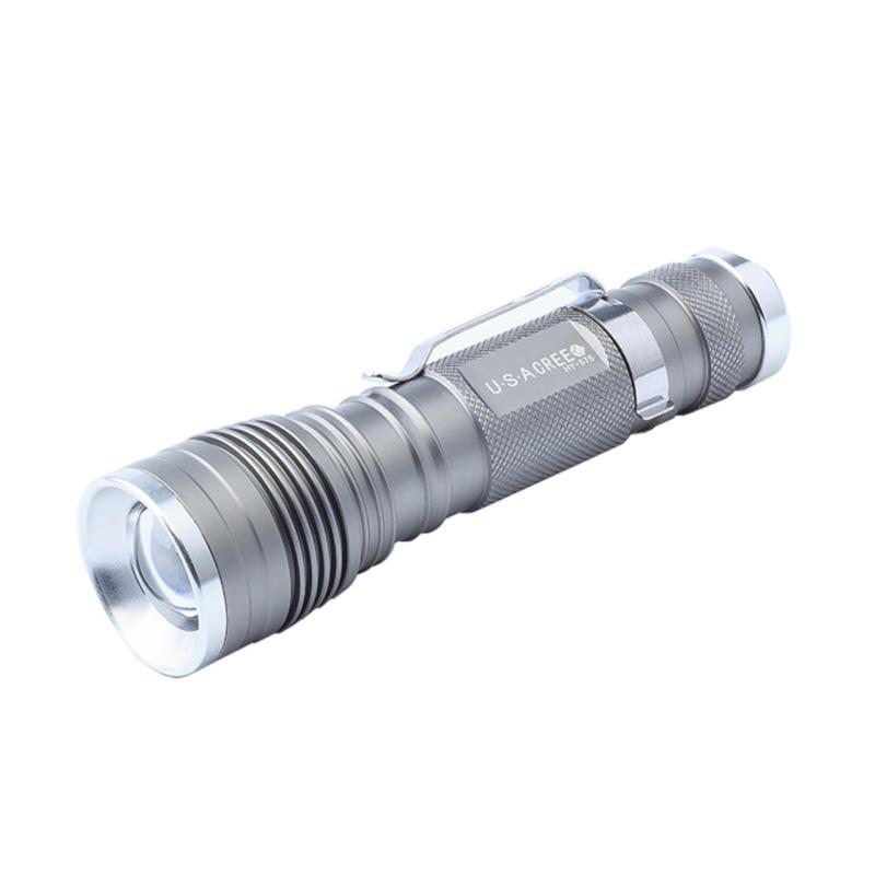 Bảng giá Đèn pin siêu sáng 575 màu bạc