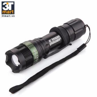 Đèn pin siêu sáng C'MON POWER IPX6 LED 7W 1600lm chiếu xa 300m