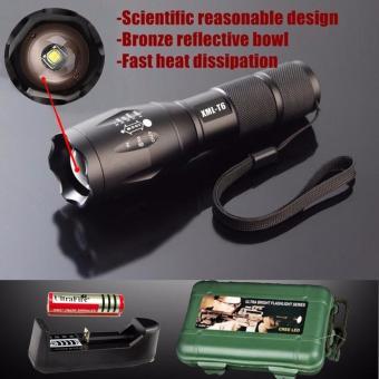 Den pin sieu sang c8 - Đèn pin siêu sáng HUNTER S26, giá rẻ nhất - BH 1 ĐỔI 1