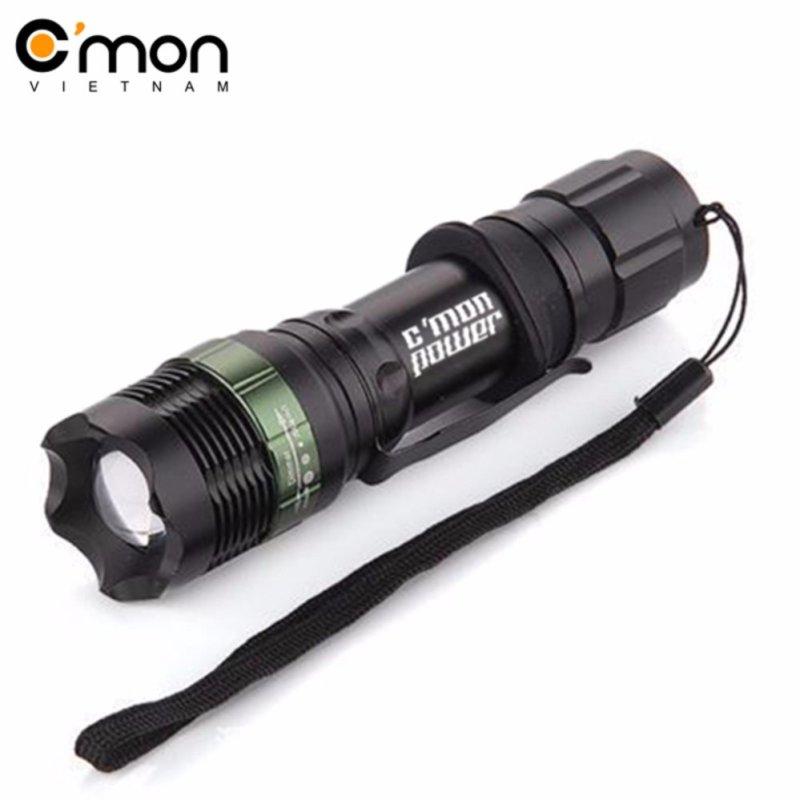 Bảng giá Mua Đèn pin siêu sáng Cmon Power X6 LED 7W 1600lm chiếu xa 300m