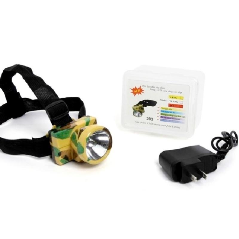 Bảng giá Mua Đèn pin thợ mỏ đeo đầu siêu sáng VegaVN (Rằn ri)