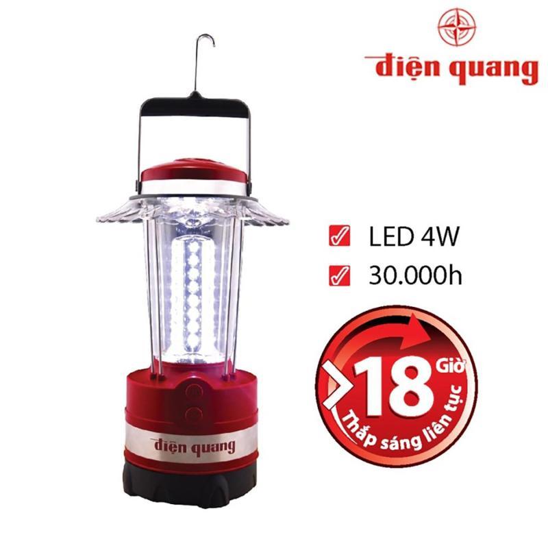 Bảng giá Mua Đèn sạc cầm tay LED Điện Quang PRL02 04765 4W (Ánh sáng trắng)